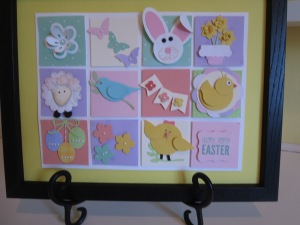 Stampin' UP Easter Punched Art